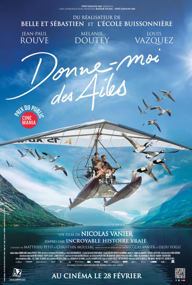 Le Festival Cinéma du Monde présente - Donne-moi des ailes