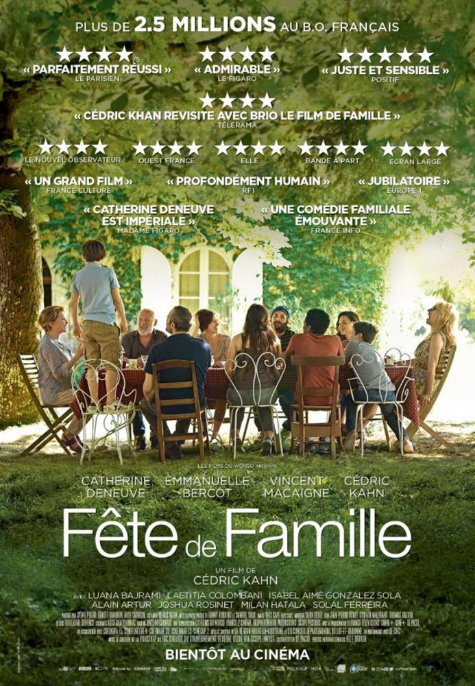 Le Festival Cinéma du Monde présente – Fête de famille